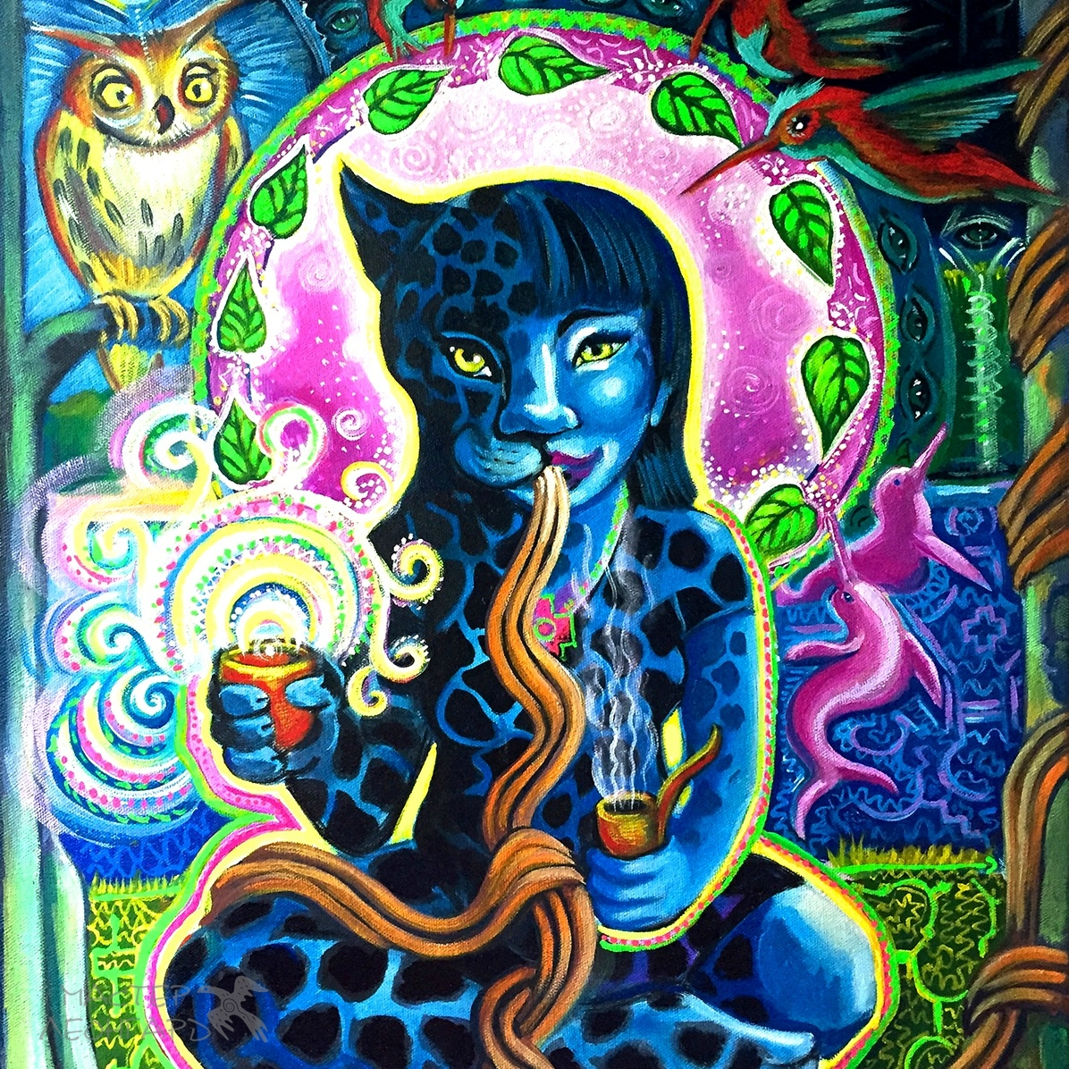 Jaguar-Woman-by-Katherine-Skaggs-MotherHouse-of-the-Goddess